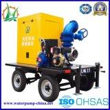Landwirtschaftliche Bewässerung gemischte Fluss-elektrische zentrifugale Wasser-Dieselpumpe