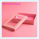 Коробка профессионального подарка картона упаковывая с окном PVC