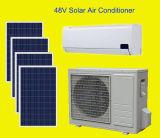 100% 48Vは9000-24000BTUの太陽エネルギーの冷暖房システムを分割した