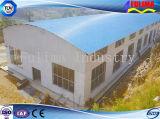 Edificio prefabricado de acero económico para el taller vertido