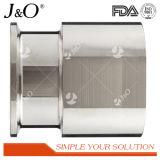 Encaixes de tubulação Hex sanitários da câmara de ar do adaptador da virola