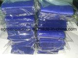 Голубая ткань чистки объектива Microfiber цвета с белым логосом