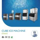 Vertical modelo del billar de Sk-80PT/fabricante de hielo directo del abastecimiento de agua del diseño de Intergal, máquina de hielo con la salida diaria 36kgs