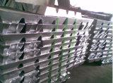 El cinc de la alta calidad alea los lingotes Za-8 Za-12 Za-27 99.995%