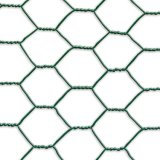 PVC上塗を施してある六角形ワイヤー網との(セリウムおよびSGS)
