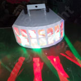 indicatore luminoso della farfalla della fase LED del randello di notte della discoteca di 2X10W DMX