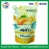 Fastfood- Tülle-Beutel für Saft-oder Wäscherei-Reinigungsmittel