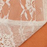 Ajuste del cordón de la ropa interior de la mujer, ajuste del cordón de la pestaña, tela africana del cordón de George