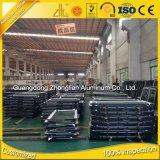 L'extrusion en aluminium d'ODM d'OEM d'approvisionnement d'usine forme le fer à U en aluminium pour le guichet et la porte