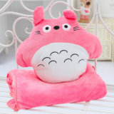 Personaggio dei cartoni animati il mio giocattolo della peluche farcito regalo contiguo del cuscino dell'ammortizzatore della bambola della peluche di Totoro