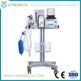 Preço portátil da máquina da anestesia do ser humano/veterinário com um ventilador