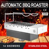 De draagbare BBQ van de Grill van de Houtskool Openlucht Draagbare Automatische Grill van de Barbecue