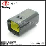 174264-2 6개의 Pin 남성 방수 유형 자동 전기 연결관