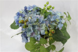 Potenciômetro artificial do Hydrangea da flor de /Plastic/Silk para o casamento