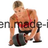 [أب] عجلة بكرة - جانبا [بوور] [غيدنس] - الجيّدة لياقة تجهيز لأنّ لب تمرين بدنيّ - مع مطاط إبداعيّة [نون-سليب], زيادة سميك [ن بد] & راحة زبد قبلات