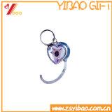 Kundenspezifisches Heart-Shaped Kristallgeld-Haken-Schmucksache-Geschenk (YB-HD-112)