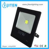 Luz de inundación del LED 10W LED/iluminación ligeras, IP65 reflector al aire libre de la luz LED