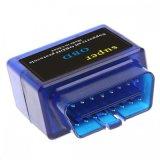 Steun Al Obdii Kenmerkend Hulpmiddel van de kunnen-Bus van de Adapter Bluetooh2.0 van de Scanner Elm327 van de Auto van het Protocol Elm327 Super OBD V1.5 OBD2 voor Androïde