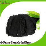 Qualità d'ardore ad emissione lenta e nera dell'acido umico della sfera