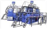 O PVC giratório carreg a cor moldando da máquina 2 da injeção