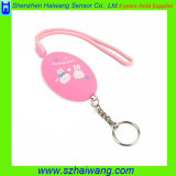 Multi sveglio Color Personal Alarm 120dB con Key Chain per Woman Kids The Aged Hw-3212