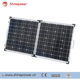 Módulo solar plegable portátil 100W hecho por el silicio monocristalino de la célula solar