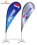 bandiera del Teardrop di stampa di 2.8m Digitahi/bandierina del Teardrop/bandierina di alluminio esterne di volo