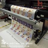 44 '' 64 '' formato poco costoso del rullo del documento di trasferimento di sublimazione di prezzi 45g 55g 70g 90g 100g per stampa di sublimazione