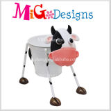 Hot Sale Fox Figuras Metal Garden Flower Planter Diseño único