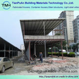Здание структуры раздела h стальное для рынка ужина
