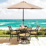 parapluie extérieur en aluminium ou en acier Sy8271 de 2.7m de Sun de jardin