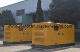 Малошумный комплект генератора 40kVA Cummins тепловозный