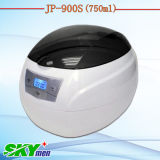 750ml Mini Electric Plastic Ultrasonic Cleaner für CD Record Disks Washing (JP-900S)