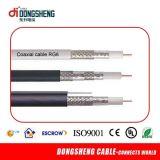 고품질 75 옴 RG6/Rg59/Rg11 동축 케이블