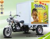 SaleのためのBoxの閉鎖Auto Vehicle Closed Bajaj Cargo Rickshaw