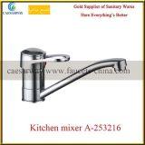 Torneira de água de bronze do dissipador de cozinha dos mercadorias sanitários