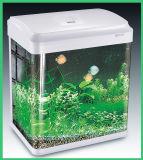 El tanque de escritorio del acuario del tanque de pescados con la lámpara del LED (HL-ATD85)