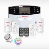 Hogar con pilas del monóxido de carbono Detector / Detector de CO / Co Alarma Sistema de alarma inalámbrica GSM M2b
