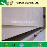 La tarjeta del silicato del calcio -100% Abestos libera para la partición y el techo