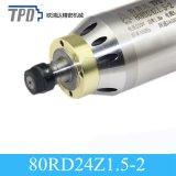 80 mm Diámetro 1.5kw Er Collet CNC husillo para la perforación, fresado y Grabado