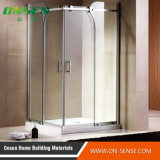 europeu Style Hinge Door Shower Cabin de 6mm