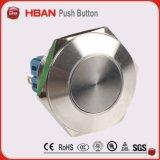 commutateur de bouton poussoir d'acier inoxydable de 30mm