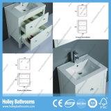 Американский горячий продавая классицистический блок тщеты ванной комнаты твердой древесины (BV111W)