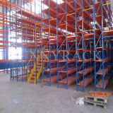 Piso de entresuelo de la estructura de acero del almacén