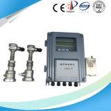 Tipo medidor de fluxo ultra-sônico da inserção do transdutor