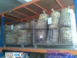 Recipiente de armazenamento resistente do engranzamento de fio para o armazém