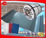 Material de construcción de la hoja de acero de aluminio para el material para techos y la pared