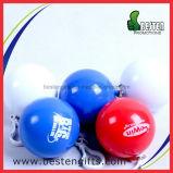 球の使い捨て可能な雨ポンチョ、プラスチック折るレインコート、安い雨ポンチョの球