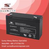 batería recargable de la potencia del almacenaje de 6V 10ah, baterías de plomo selladas