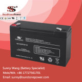 6V 10ahの再充電可能な記憶力電池、密封された鉛酸蓄電池